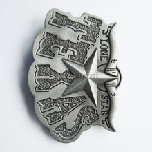 Distribute Belt Buckle Original Texas Star Belt Buckle BUCKLE-WT026 Free Shipping 6pcs Per Lot Mix Style is Ok