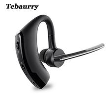 Tebaurry V8 Business Bluetooth Earphone Sport Wireless Bluetooth Headset Bass Earbuds Music Earphone Voice control with Mic