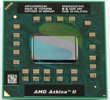 Laptop cpu processor AMD Athlon II Dual-Core P340 AMP340SGR22GM P 340 Mobile (1M Cache 2.2 GHz)  Socket S1/S1g4