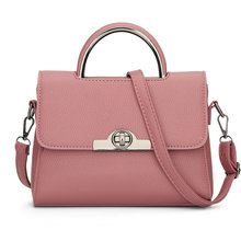 2017 Good Quality Women Summer Handbags Ladies Shoulder Bag Cheap Tote Bag Leather Messenger Bolas(China)