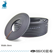 10m 220V 230V 240V type heating tape, 8mm self regulating, water pipe protection, roof deicing heating cable