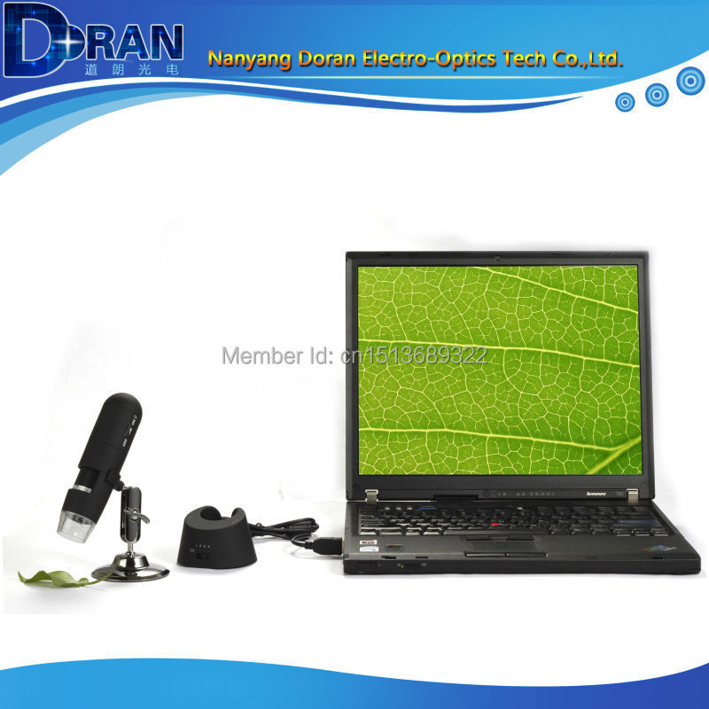 Free Shipping 2.4GHZ 20-200X Measurement Mac Compatible Mini Portable USB Microscope, Wireless USB Digital Microscope 2015 New<br><br>Aliexpress
