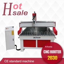 1325 2030 cnc router for sale with hiwin square rails/vacuum table for acrylic/granite/marble(China)