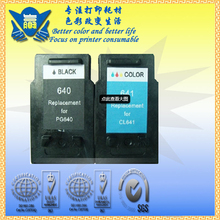 PG640 CL641 Ink, Ink Cartridge for Canon PG640 CL641 Printer Ink Cartridge with A+ quality grade ,free shipping(China)
