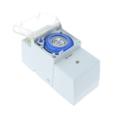 AC 110-230V 24hours Analog Mechanical Time Switches Manual/Auto Controller Time Switch 45-60Hz Quartz Motor Measurement Timer(China)