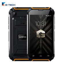 GEOTEL G1 7500mAh Quick Charge Quad Core MTK6580A Android 7.0 Smartphone 5.0 Inch 2G RAM 16G ROM 3G Mobile Phone