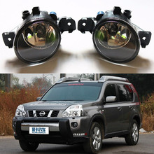 For NISSAN X-TRAIL (T31) 2007-2015 Car styling Fog Lamps Front bumper halogen Lights 1set(China)
