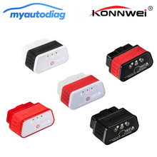 KONNWEI KW903 Auto Diagnosise Scanner Tool WIFI Supports All OBD-II Works On IOS Android Windows Adapter Supper MINI ELM327