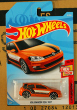 New Arrivals 2018 8a Hot Wheels 1:64 volkswagen golf mk7 Car Models Collection Kids Toys Vehicle For Children(China)