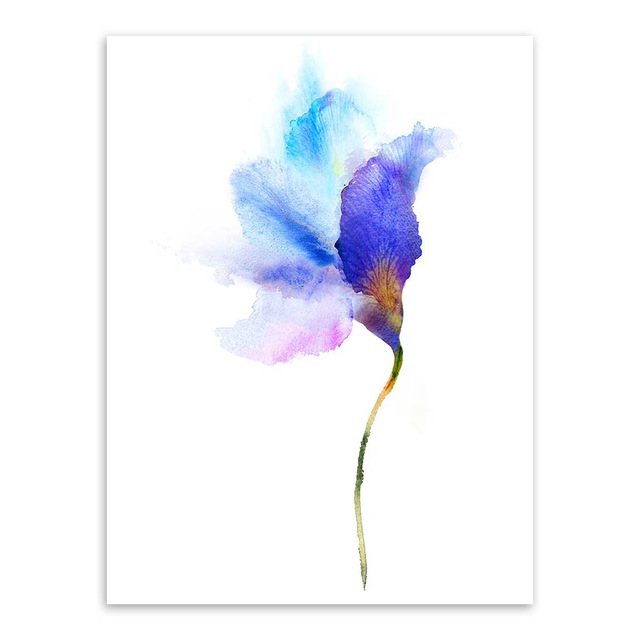 Modern-Watercolor-Beautiful-Plant-Flower-Floral-Rose-Canvas-A4-Art-Print-Poster-Nordic-Wall-Picture-Home.jpg_640x640 (3)