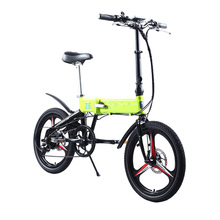 BIZOBIKE SPORT 20inch City Electric Folding Bike With 10Ah Lithium Battery 48V 250W Hub Motor