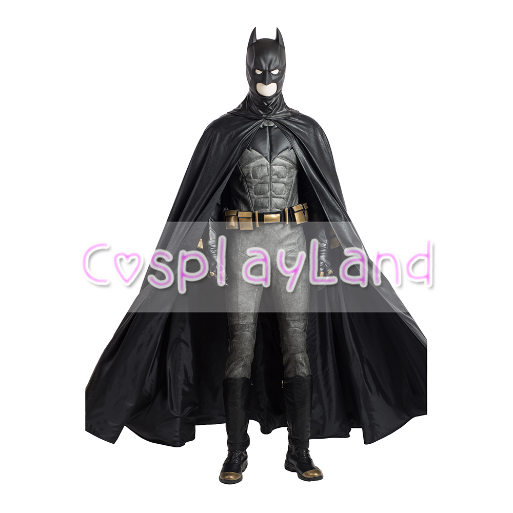 Aliexpress.com  Buy Batman Costume Halloween Superhero Costumes Adult Batman Superman Justice League Batman Costume Boots Cloak Jumpsuit Custom Made from ...  sc 1 st  AliExpress & Aliexpress.com : Buy Batman Costume Halloween Superhero Costumes ...