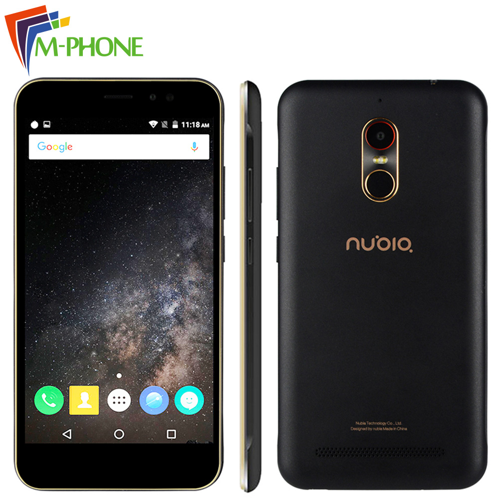 Original ZTE Nubia N1 Lite NX597J 5.5 inch Mobile Phone 2GB RAM 16GB ROM 13MP 3000mAh MT6737 Quad Core Android 6.0 Fingerprint  -  M-Phone Store store