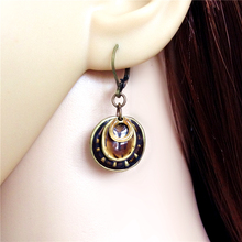 Women Special Store Bronze Ethnic Hat Pendant Hanging Earrings Brincos Female Turkey Earing
