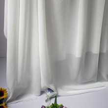 "Off White Color Chiffon Fabric Sheer Bridal Wedding Dress Lining Fabric Skirt 60"" Wide 5 Yards Per Lot Free Shipping"