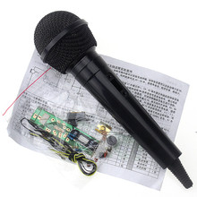 FM wireless microphone Kit FM kit electronic production parts training DIY FM wireless microphone Kit electronic diy kit