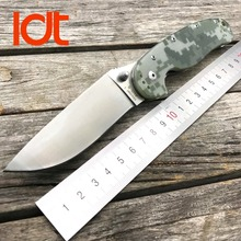 LDT RAT Folding Knife Model 1 Tactical Knives AUS-8 Blade G10 Handle Camping Hunting Outdoor Survival Knife Pocket EDC Tools OEM
