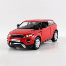 1/36 SUV LR Evoque alloy models model car children's toys car Diecast Metal Pull Back Car Toy For Gift Collection(China)