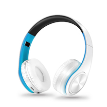 Wireless Headphones Bluetooth Headphones Headsets and Headphones for girls with Samsung Xiaomi Sport and SD Card Play with Mic