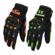 Motorcycle Glove Cycling Racing KTM Full Finger Summer Motorbike Moto Bicycle Bike Breathable Outdoor Sports Motocross