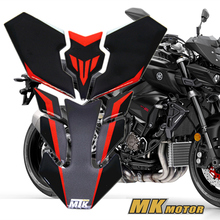 Free shipping 3D Reflective ADESIVI Sticker Decal Emblem Protection Tank Pad Cas Cap For yamaha mt-10 mt09 mt07 mt03 mt10 fz09