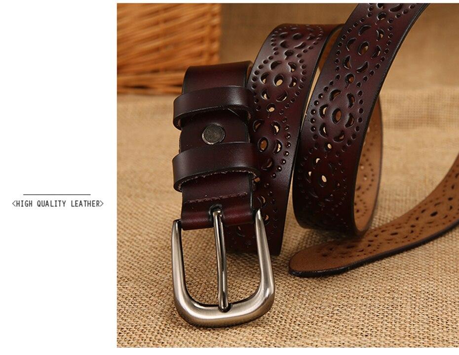 male genuine leather strap