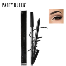 1pc Party Queen Black / Brown Waterproof Eye Liner Pen Smooth Gel Eyeliner Pencil Brand Makeup Cosmetics Smoky Eyes Long Lasting