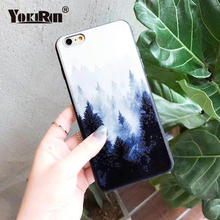 Buy YOKIRIN Landscape Scenery Soft IMD Phone Cases iPhone 6 6S 7 8 Plus Vintage Mountain Forest Clouds Print Cover iPhone X for $1.97 in AliExpress store