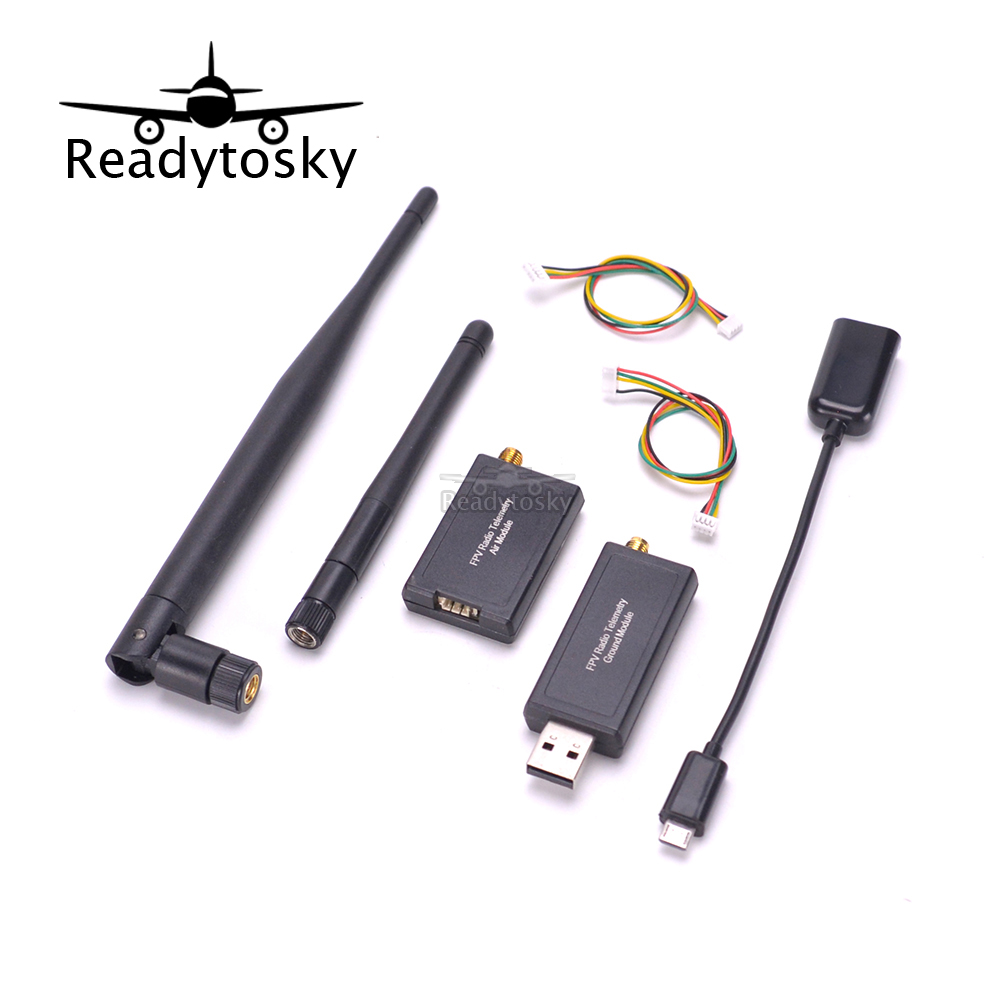 New 3DRobotics 433 500mw 500 Telemetry Kit 433mhz Module for APM2.6 APM2.8 Pixhawk PX4 Controller<br>