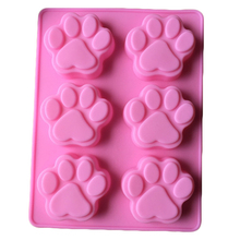 New Style Silicone Mold Animal Cat Claws Cake Decorating Chocolate Kitchen Cooking Cake Tools Food Dessert Making(China)