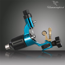 2017 HOT SALE Original Hummingbird Blue Gen 2 Rotary tattoo machine swiss motor liner shader for cord free shipping