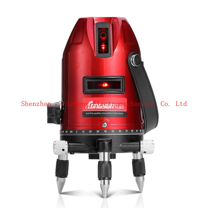 Laser level laser 2 line 1 point 6 bright infrared level instrument line <br>