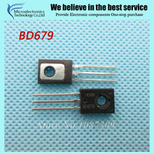 100PCS free shipping BD679 BD680 BD681 BD682 TO-126 4A 100V Darlington transistor 4Values*25pcs=100pcs new original(China)