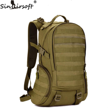 Camping bags,Waterproof Molle Backpack Military 3P Gym School Trekking Ripstop Woodland Tactical Gear for men 35L Drop Shipping