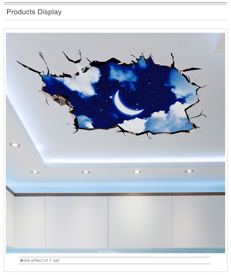 HTB1QAdKn22H8KJjy1zkq6xr7pXan - [SHIJUEHEZI] 3D Visual Effect Stickers PVC Material Cosmic Galaxy Wall Decor for Kids Room Kindergarten Ceiling Decoration
