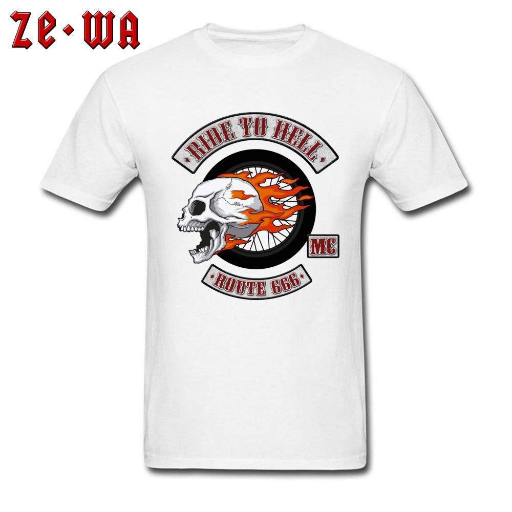 2018 Newest Men's T Shirt Rider Logo Printed T Shirts 100% Cotton Short Sleeve Printed Top T-shirts O-Neck Wholesale Rider Logo white