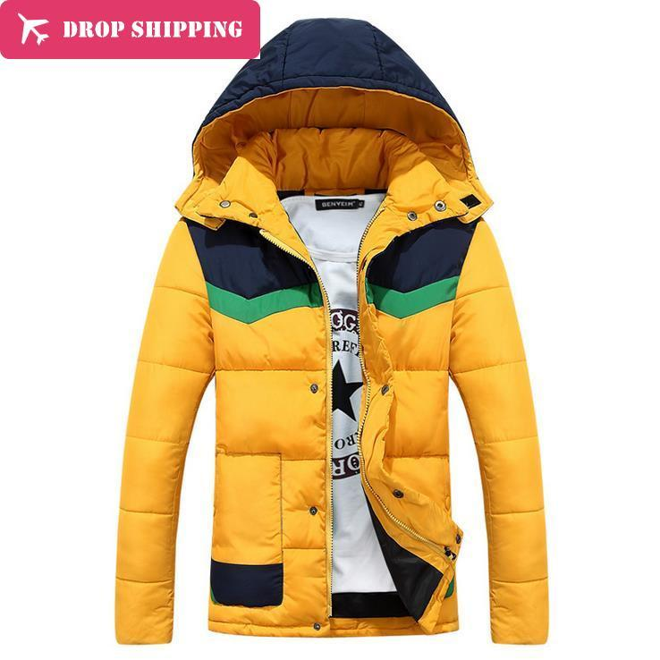 Dropshipwinter New Arrival Mens Thick Padded Jacket Warm Slim Casual Coat 4 Colors T025 Одежда и ак�е��уары<br><br><br>Aliexpress