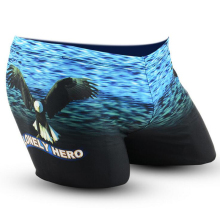 Blue Sea Flying Eagle Adults Men Male Swimming Suit Swimwear Swim Pool Pants Boxer Shorts Briefs Trunks Swimsuit Wear Beachwear(China)