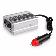 Top selling 1pcs 12V DC to AC 220V Car Auto Power Inverter Converter Adapter Adaptor 200W USB /Inverter 12 220