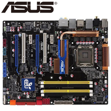 Asus P5Q-E Desktop Motherboard P45 Socket LGA 775 Core 2 Duo Quad DDR2 16G UEFI ATX BIOS Original Used Mainboard Sale
