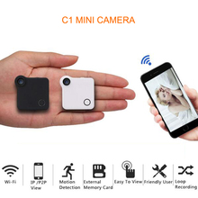 WIFI IP Cam Mini Camera DVR HD 720P Action Camera Motion Sensor Loop Recording DV Wearable Body Camera with Magnetic Clip