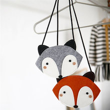 Baby Fox Cute Bag Single Shoulder Bag           252510(China)