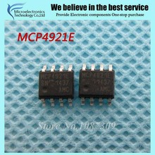 10pcs free shipping MCP4921-E/SN MCP4921E MCP4921 SOP-8 Digital to Converters - DAC Sgl 12-bit SPI int new original(China)