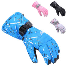 COPOZZ Men Skiing Gloves Waterproof windproof outdoor cycling motorcycle TPU waterproof bag Winter keep warm Outdoor ski gloves