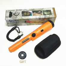 2017 NEW orange color pro Pinpointing metal detector GP-pointer gold metal detector Static alarm with Bracelet free shipping(China)
