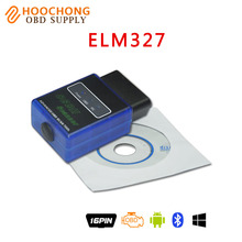 Mini OBD2 Scanner Super Mini ELM327 V2.1 Bluetooth Support All OBD-II Products