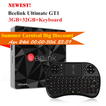 Beelink GT1 Ultimate 3G 32G TV Box Android 6.0 Amlogic S912 Octa Core Media Player 5G WiFi BT 4.0 Smart Box Set Top Box PK X92