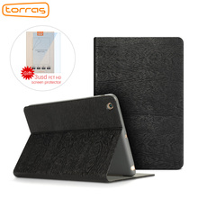 TURRAS Leather Case For New iPad 2017 9.7 inch Shockproof Folio Stand Cover 9.7 funda For iPad 2017 Smart Cover a1822 Luxury(China)