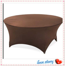 "2015 Big Discount  !!! 10pcs Coffle Spandex Table Cover 72"" Inch Round FREE SHIPPING"