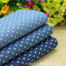 50*145cm width 100% cotton  washed denim fabric by half meter DIY sewing fashion apparel making cotton fabric